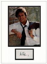 Ian Ogilvy Autograph Signed Display - Return of the Saint